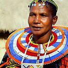 Maasai (or Masai) Woman, East Africa  by Carole-Anne