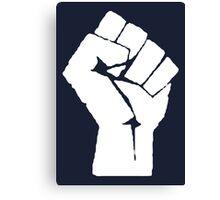 Revolution Fist Canvas Print