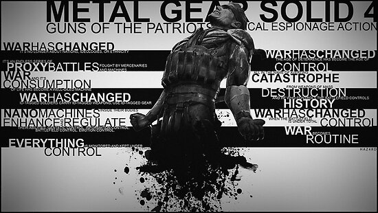 Metal Gear Solid 4 - War Has Changed by Strangetalk