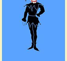 The Dark Knight - Minimalist Poster by Strangetalk