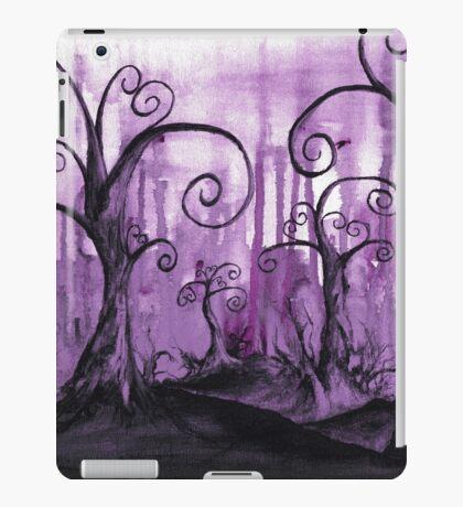 Hidden Hearts Trees Surreal Fantasy Landscape Art iPad Case/Skin