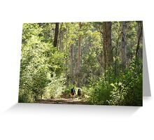 Into the Realm of the Giants Greeting Card