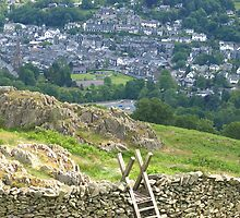 Ambleside view by Tony Worrall