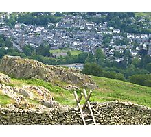 Ambleside view Photographic Print
