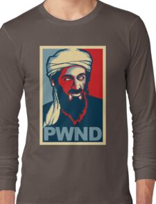 PWND - Osama Bin Laden Long Sleeve T-Shirt