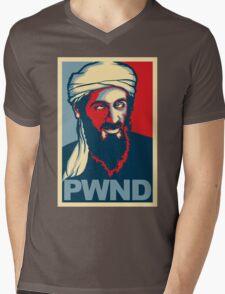 PWND - Osama Bin Laden Mens V-Neck T-Shirt