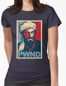 PWND - Osama Bin Laden Womens Fitted T-Shirt