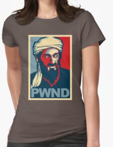 PWND - Osama Bin Laden Womens Fitted T-Shirt