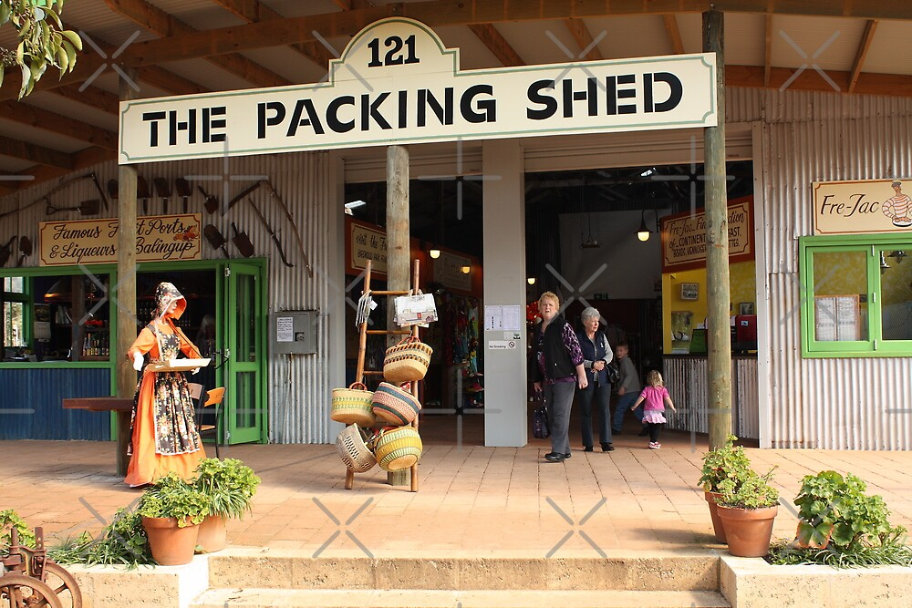 The Packing Shed, Balingup, Western Australia by Elaine Teague