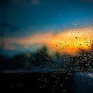 Window after rain by Laurent Hunziker