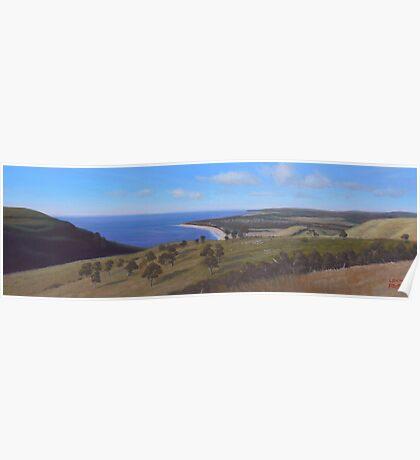 Fleurieu Peninsula Vista Poster