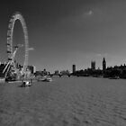 London Eye and Big Ben by TrishMc