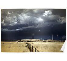 Canunda wind farm Poster