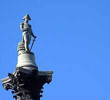 The top of Nelson's Column by TrishMc