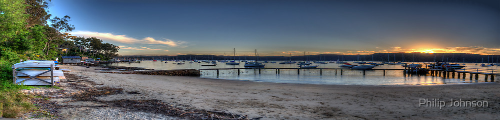 Adventures In Paradise - (30 Exposure HDR Panoramic) - Paradise Beach, Sydney - The HDR Experience by Philip Johnson