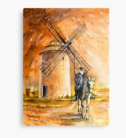 La Mancha Authentic Metal Print