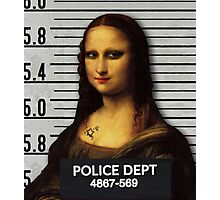 Prision Gioconda Photographic Print