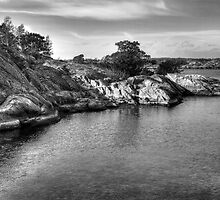 Archipelago in B/W by cloud7
