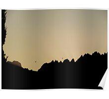 Organ Mountains @ Sunrise Poster