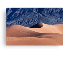 Sunrise over Mesquite Flat Sand Dunes Canvas Print