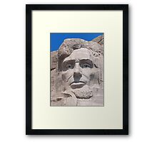 Abraham Lincoln, Mount Rushmore National Memorial .2 Framed Print