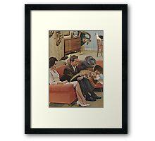 Domestic Bliss Framed Print