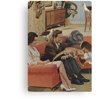 Domestic Bliss Canvas Print