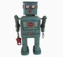 Lantern Robot 1 by Benedict Middleton