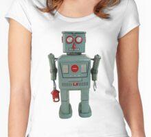 Lantern Robot 1 Women's Fitted Scoop T-Shirt