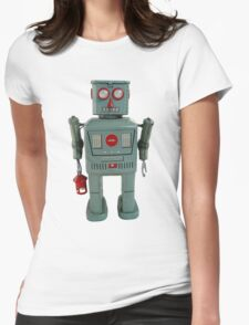 Lantern Robot 1 Womens Fitted T-Shirt