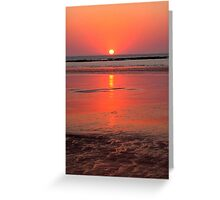 Low Tide Reflections Greeting Card