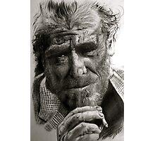 Charles Bukowski Photographic Print