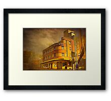 By-Gone Era - Hotel Hollywood, Surry Hills, Sydney, Australia Framed Print