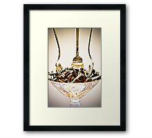 Three for dessert. Framed Print