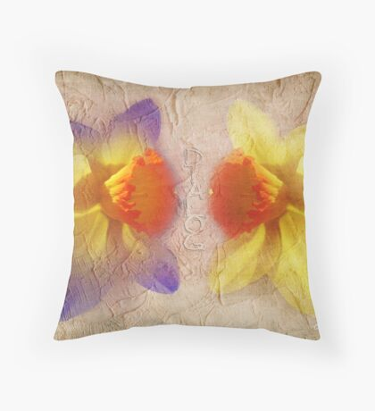 Dialog Throw Pillow
