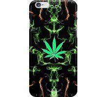 Marijuana Leaf Psychedelic pattern iPhone Case/Skin