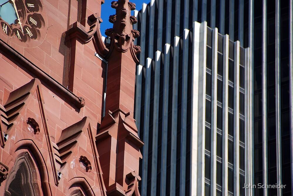 Contrasting Views by John Schneider