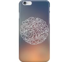 Always remember the Litany iPhone Case/Skin