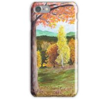 Green Hill Country iPhone Case/Skin