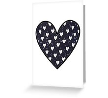 Harry Styles Shirt Pattern - Hearts  Greeting Card