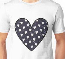 Harry Styles Shirt Pattern - Hearts  Unisex T-Shirt