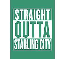Straight Outta Starling City – Arrow, Compton Parody Photographic Print