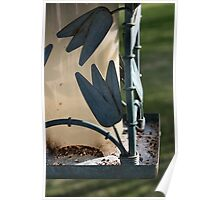 Bird Feeder Three Poster