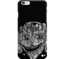 Shroom Imp B&W redone iPhone Case/Skin