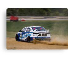 Blyton Park Rallycross - Steve Hill Canvas Print