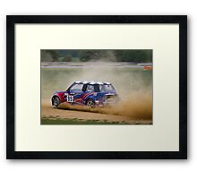 Blyton Park Rallycross - Neil Wade Framed Print