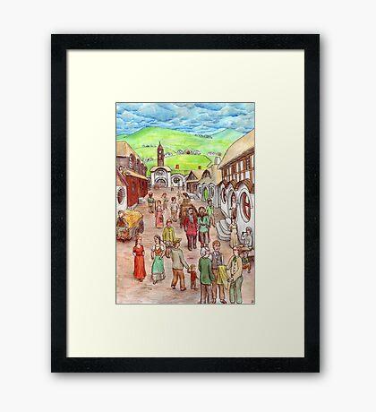 Michel Delving Framed Print