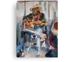 Nashville Singer Canvas Print