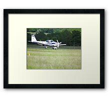 Grob Tutor(No 16 Squadron) Cranwell Framed Print