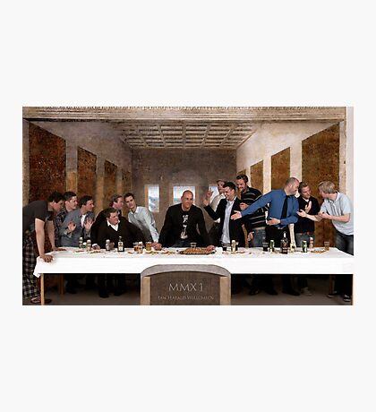 The very last supper Photographic Print